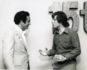 Bio 29 Me and Joesph Barbera in Hollywood 1972