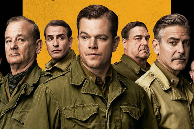 CINEMA RELEASE: THE MONUMENTS MEN