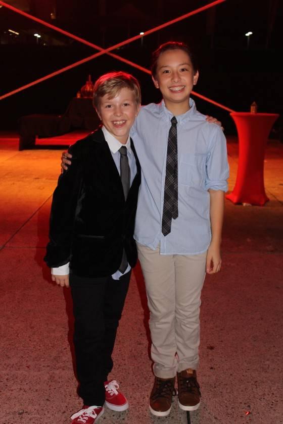 Riley Brooker and Timothy Ho