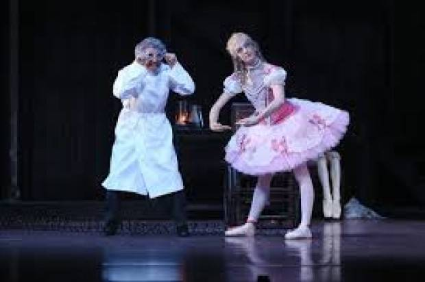 On Centre Stage. Walking , Talking, Dancing, Living Doll