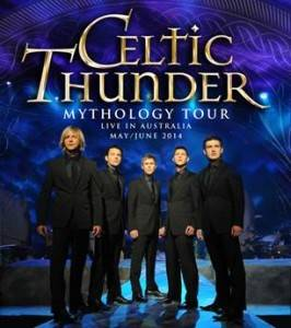 Irish supergroup Celtic Thunder Honour  the late George Donaldson