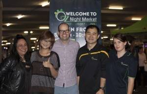OZ night market and HushHushBiz Welcome Ben Zabel