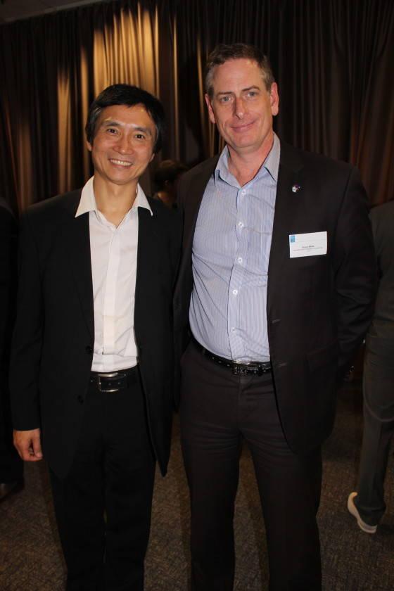 Simon White and LI Cunxin