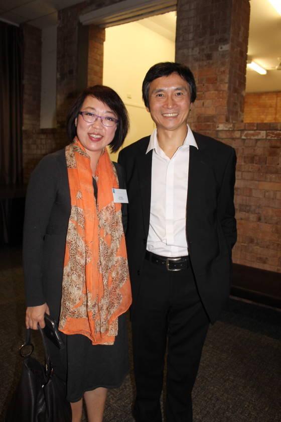 Lisa Liang and Li Cunzin