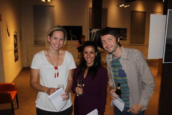 Belinda McGrath and Maria Guard Aka and David Lloyd