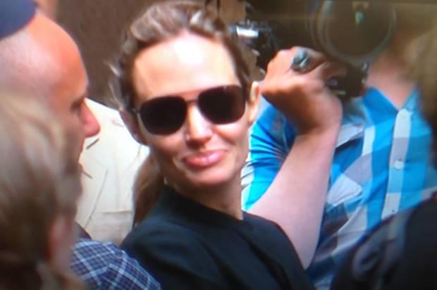Angelina Jollie In Sydney  November 17th For World Premier