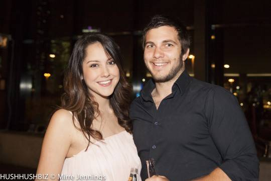 Adam Minchev and Diana Rodgriguez