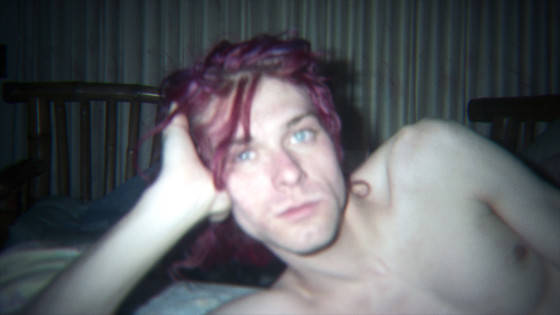 KC 3_ADULT KURT_Red Hair_RETOUCHED__An unseen image of Kurt Cobain at home featured in the film KURT COBAIN MONTAGE OF HECK