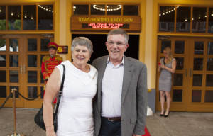 Red Carpet Arrivals For QLD Premiere of : UNBROKEN
