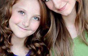 SNOW MOON CASTS: Mikayla Shae Chapman & Shayna Brooke Chapman