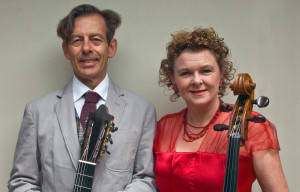 Duo Armonico perform Spanish Nights in the Gold Coast City Gallery