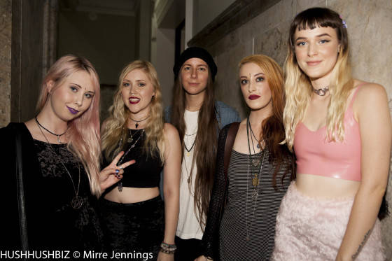 Rosie Kelt, Dolly Hampstead, Laura Shepherd, Brieanna Jean and S