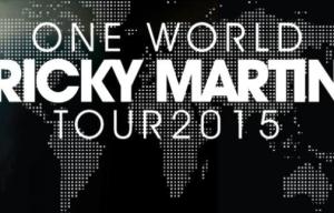 RICKY MARTIN INVITES DELTA GOODREM ON ONE WORLD TOUR
