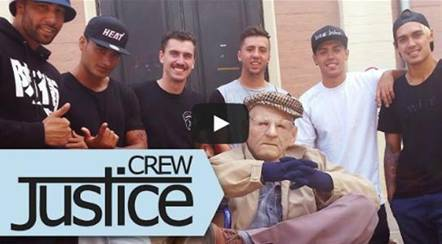 JUSTICE CREW VIDEO PREMIERE 'I LOVE MY LIFE'