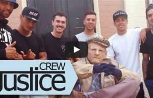 JUSTICE CREW VIDEO PREMIERE 'I LOVE MY LIFE'