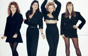 THE ALL GIRL BAND ARE BACK :THE  CHANTOOZIES