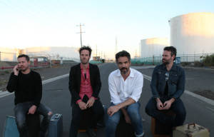 RAISED BY EAGLES LAUNCHING THEIR NEW ALBUM 'DIAMONDS IN THE BLOODSTREAM' WITH RUBY BOOTS
