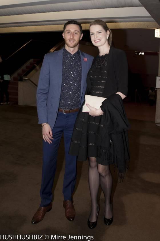 Alexandra Wythes and Chris Grogan