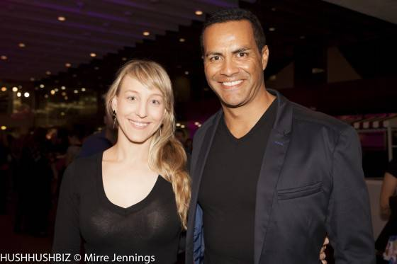 Lucy Carmichael and Michael Tuahine