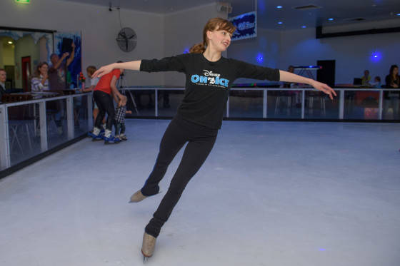 """Laura Anderson at Disney On Ice """"Gold Coast Princess Party"""""""