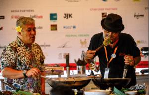 THOUSANDS OF FOODIES FLOCK TO BALI'S CULINARY CAPITAL TO TASTE-TASTE THE INAUGRAL UBUD FOOD FESTIVAL