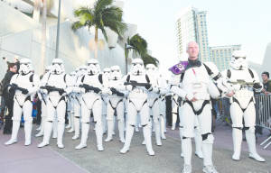 STAR WARS: THE FORCE AWAKENS AT SAN DIEGO COMIC-CON 2015