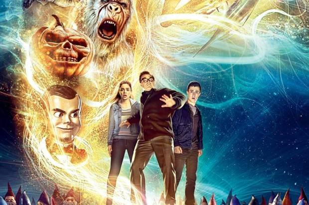 FIRST LOOK AT NEW 'GOOSEBUMPS' MOVIE