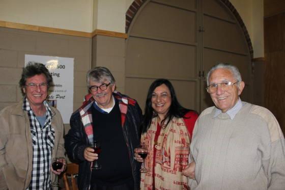 Tony Cavanaugh, Bob Gordon, Caroline Russo and John Penglis
