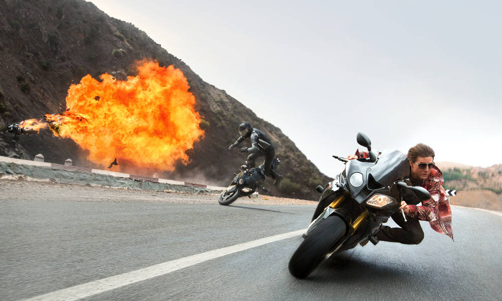 BEHIND THE SCENES OF 'MISSION: IMPOSSIBLE – ROGUE NATION' – THE STUNTS ARE REAL