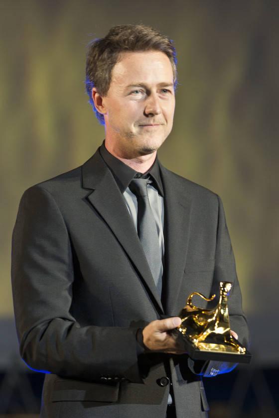Edward Norton - Excellence Award Moet & Chandon