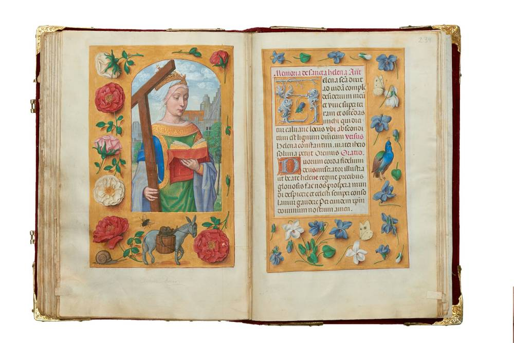 AN ILLUMINATION: THE ROTHSCHILD PRAYER BOOK