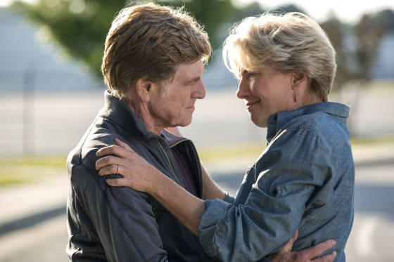 Robert Redford and Emma Thompson star as Bill and Cynthia Bryson in Broad Green Pictures upcoming release, A WALK IN THE WOODS.