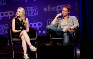 HARRY POTTER'S EVANNA LYNCH AND ROBBIE JARVIS AT OZ COMIC CON