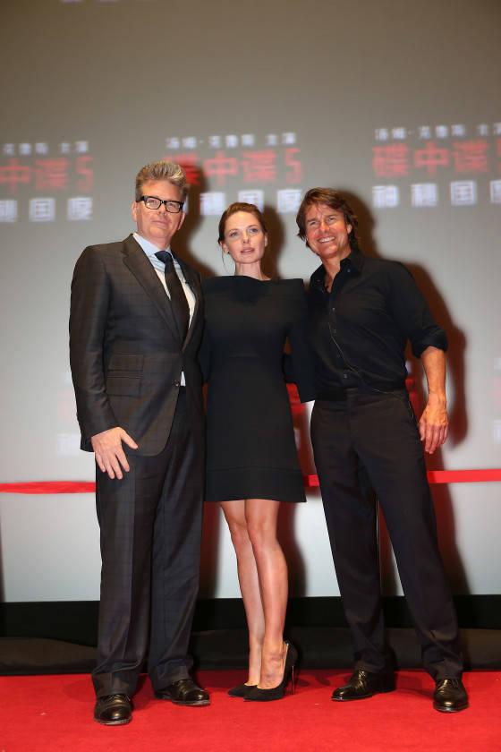 Tom Cruise; Rebecca Ferguson; Christopher McQuarrie