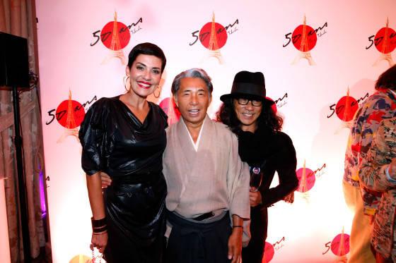 Cristina Cordula; Kenzo Takada; Massato