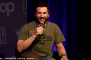 Clive Standen plays Rolo In the series Vikings