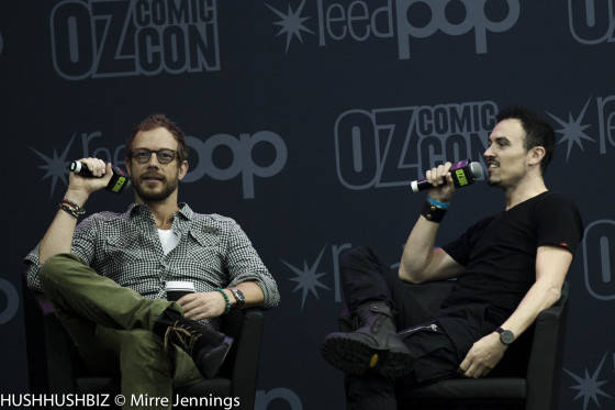 Kris Holden Reis and Paul Amos from Lost Girl