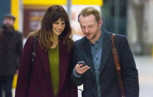 SIMON PEGG AND LAKE BELL STAR IN NEW FILM 'MAN UP'