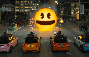 PIXELS – FILM REVIEW BY PETER GRAY