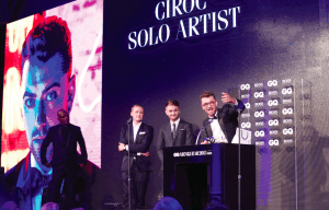 CÎROC VODKA PARTNERS WITH GQ MEN OF THE YEAR AWARDS 2015