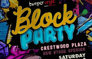 GET READY FOR A PARTY BURGER URGE STYLE!