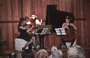 THE MUSES TRIO BRING A TOUCH OF GIRL POWER TO MUSIC BY THE SEA