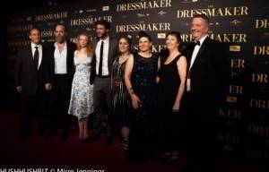 LIAM AND CHRIS HEMSWORTH AT AUSTRALIAN OPENING OF  THE DRESSMAKER