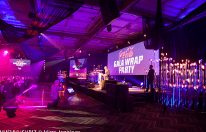 AIMC BRINGS OUT THE COLOUR AT THE WRAP GALA DINNER