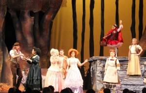 INTO THE WOODS STAGE PLAY FOR THE FIRST TIME IN BRISBANE
