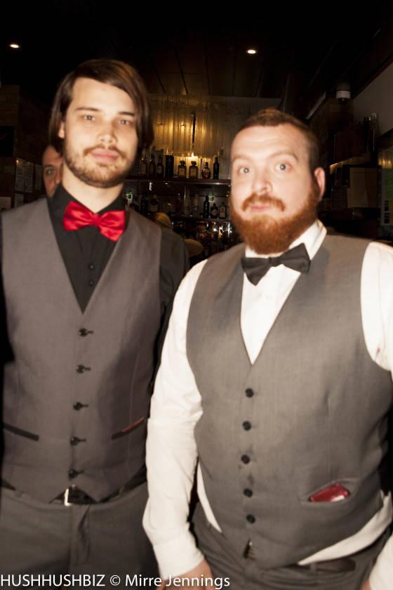 David Luton and Corey Hill