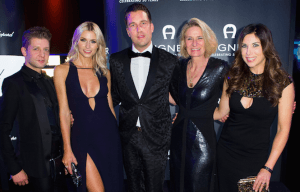 GLAMOROUS APPEARANCE WITH AIGNER AT BAMBI 2015