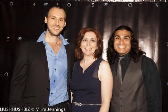 Simon Smith, Sarah DInsey and  Michael Rodriguez