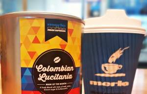New record set as coffee lovers rush Merlo for Cup of Excellence Bean