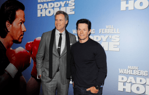 WILL FERRELL AND MARK WAHLBERG PREMIERE 'DADDY'S HOME'